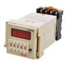 DH48J Digital Counter Relay - Grey + Black + Transparent