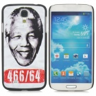 Nelson Mandela Pattern Protective PC Back Case for Samsung S3 i9500 - White + Black + Multicolored