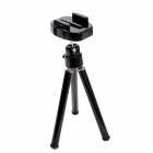 "Fat Cat Mini Tripod w/ Quick Release Plate 1/4"" Mount Adapter for GoPro Hero 3+/Hero3/2/HD/SJ4000"