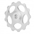 BH-01 Aluminum Alloy Bike Rear Derailleur Guide Pulley Wheel - Silver
