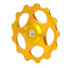 BH-01 Aluminum Alloy Bike Rear Derailleur Guide Pulley Wheel - Golden