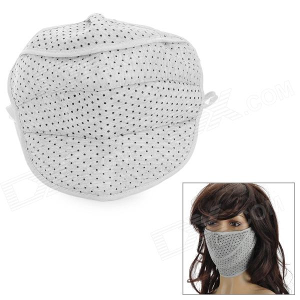 Neck Protection Thicken Cotton Warm Mask - Grey + Black