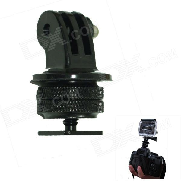 "1/4"" Hot Shoe Adapter + TrIPOD Mount Adapter for GoPro Hero - Black"