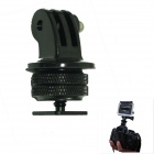 "1/4"" Hot Shoe Connecting Adapter + Tripod Mount Adapter for Gopro Hero 4/ 2 / Hero3 / 3+ - Black"