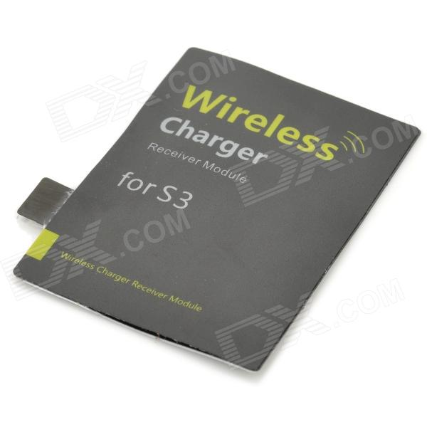 S3-101 Qi Standard Wireless Charging Receiver Module for Samsung S3 i9300 - Black