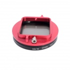 Fat Cat 52mm Converter + CPL Filter Circular Polarizer Lens Filter for Gopro Hero3+ Housing - Red