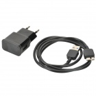 EU Plug Power Charger Adapter + USB to Micro USB Charging Data Cable for Samsung Note 3 N9000