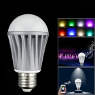 E27 7W 550lm RGBW 15-LED Smart Phone Wi-Fi Music Control Color Temperature Light Bulb - (85~240V)