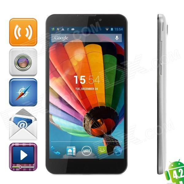 "UMI C1/cross Android 4.2 Quad-core WCDMA Bar Phone w/ 6.44"" Screen, GPS, Wi-Fi, RAM 2GB and ROM 32GB"