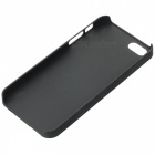 Relief Style Protective PC Back Case for Iphone 5 / 5s - Black + Red