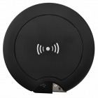 Qi Standard Mobile Wireless Power Charger + Samsung Galaxy i9300 Wireless Charger Receiver - Black
