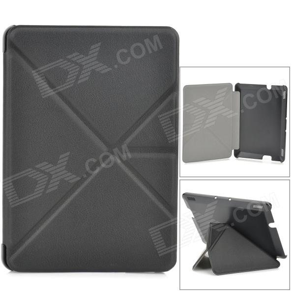 Transformable Protective PU Leather + PC Case for Amazon Kindle Fire HDX 7 - Black
