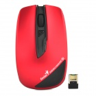Genius 2.4GHz Wireless 1200dpi Mouse / External 2700mAh Power Bank - Black + Red