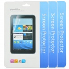 Protective Matte Frosted Screen Protector for Asus FonePad HD 7 ME372CG - Transparent (3 PCS)