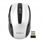RF2185 2.4GHz 1600 / 2400dpi Wireless Gaming Mouse - Black + Silver