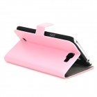 Protective PU Leather Case for Samsung Galaxy Note 2 N7100 - Pink