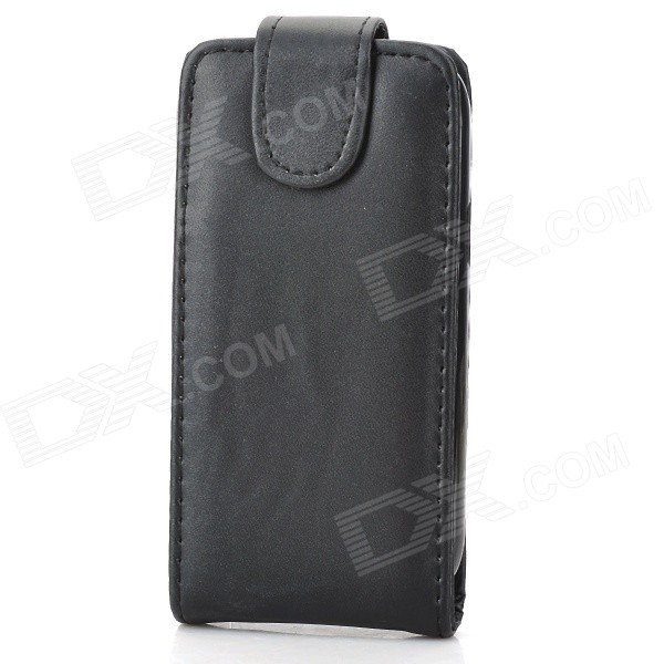 Protective Top Flip PU Leather for Samsung Galaxy Trend Lite S7390 / S7932 - Black