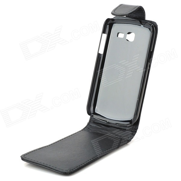 Protective top flip pu leather for samsung galaxy trend lite s7390 s7932 black free - Samsung galaxy trend lite s7390 ...