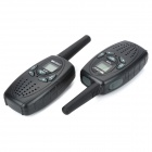 UCOM 8-KM/5-Mile Walkie Talkie - Black (2PCS)