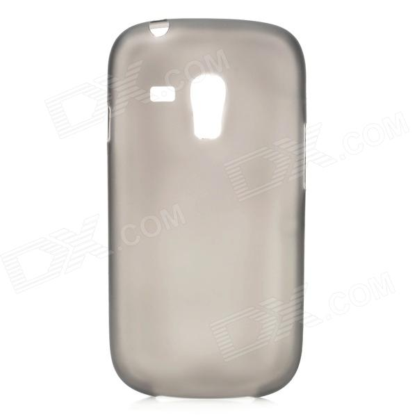 0.3mm Ultra Thin PC Back Case for Samsung Galaxy S3 Mini i8190 - Translucent Black