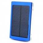 "S-What DS-10000B Universal 5V ""10000mAh"" Li-ion Polymer Battery Solar Power Charger - Blue"