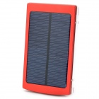 "Was S-DS-10000B Universal-5V ""10000mAh"" Li-Ionen-Polymer-Akku Solar Power Charger - Red"
