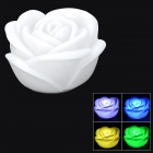 Rose Style RGB LED Light Decoration Lamp (3 x LR44)