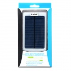 "S-What DS-10000B Universal 5V ""10000mAh"" Li-ion Polymer Battery Solar Power Charger - Silver"