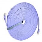 RJ45 (8P8C) Male to Male High Speed CAT6a Flat Lan Network Cable - Purple (1485cm)