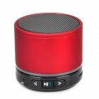 S11 Portable 3W Bluetooth V3.0 Stereo Speaker w/ Mic / Mini USB / TF - Red + Black