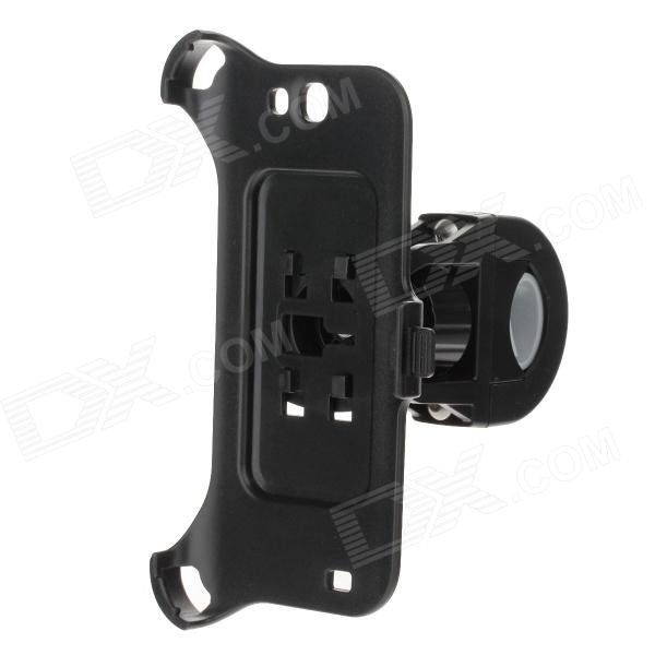 M09 360 Degree Rotation Bracket w/ Back Clamp for Samsung Galaxy Note 2 N7100 - Black
