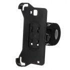M09 360 Degree Rotation Bracket w/ Back Clamp for Samsung Galaxy Note i9220 - Black