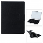 Bluetooth V3.0 Wireless 78-Key Keyboard w/ Protective Case for Ipad AIR - Black
