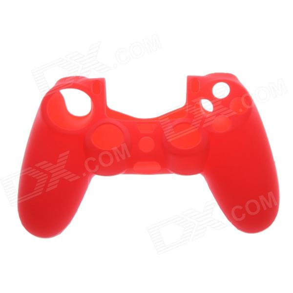 Protective Silicone Case for PS4 Controller - Red