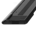 Stylish Anti-Slip Vertical Heat Dissipation Stand for PS4 Console - Black