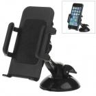 H60 + C65 360 Degree Rotation Universal Holder Mount Bracket w/ Suction Cup - Black