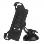 H60 360 Degree Rotation Holder Mount Bracket w/ Suction Cup for Iphone 5C - Black