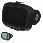 M09 360 Degree Rotation Bracket w/ Waterproof PU Leather Bag for Samsung Galaxy S3 i9300 - Black