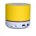 Music Mini Bluetooth v3.0 Stereo Speaker - Yellow