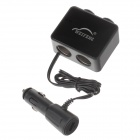 WEIFENG WF-043 1-to-2 Car Cigarette Lighter Power Splitter Adapter w/ Single USB Output - (12~24V)