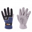 Warm Wind Fleece Gloves - Blue (Pair)