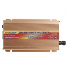 SUOER FAA-1000F 1000W DC 48V to AC 230V Solar Power Inverter - Coffee Golden