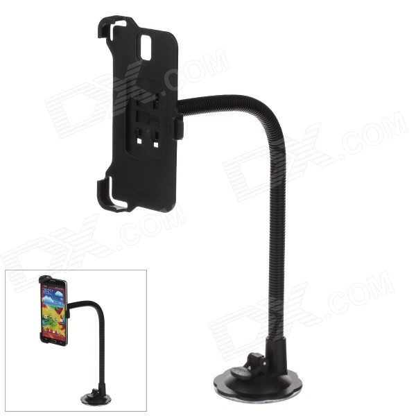 H39 360 Degree Rotation Holder Mount Bracket w/ Suction Cup for Samsung Galaxy Note 3 N9006 - Black 360 degree rotational car mount holder w suction cup for samsung galaxy note 3 n9000 n9002