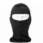 QNGLONIN Outdoor Cycling Wind Sun Protection Mask - Black
