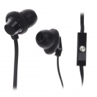 Lenjoy IN-503 Fashion In-Ear-Ohrhörer w / Mikrofon - Schwarz (3,5-mm-Stecker / 113cm-Kabel)