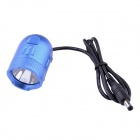 MarsFire M08 CREE XM-L2 T6 3-Mode 700LM White Bike Light - Blue (4 x 18650)