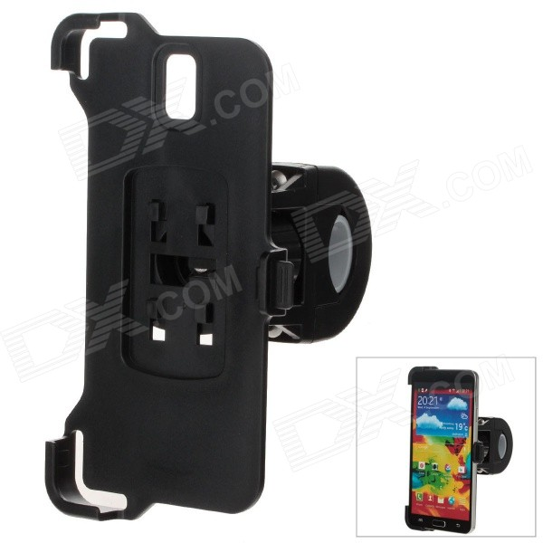 M09 360 Degree Rotation Bracket w/ Back Clamp for Samsung Galaxy Note 3 N9006 - Black
