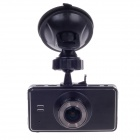 "HD-J104 2.7"" TFT LCD 5.0 MP CMOS 170 Degree Wide-angle Lens Car Digital Video Camcorder DVR - Black"