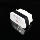 Super Mini iCar2 Bluetooth Vehicle OBD-II Code Diagnostic Tool - White + Black