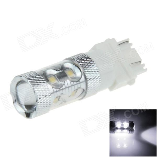 3157 / 3156 50W 500lm 10-LED White Car Brake Light / Steering / Backup Lamp (12~24V)